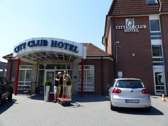 City Club Hotel Rheine: Hoteleingang