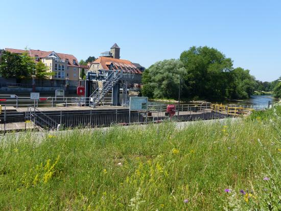 City Club Hotel Rheine: Blick zur Ems