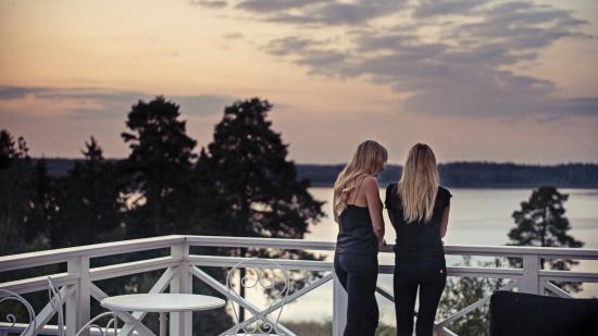 Sastaholm Hotell & Konferens: Skymning på Såstaholm