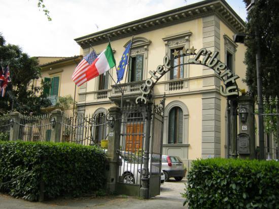 Hotel Villa Liberty: panorama