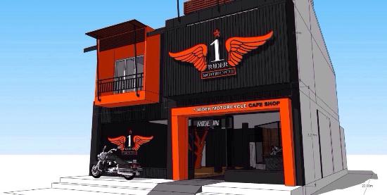 Rider One Motorcycle cafe shop