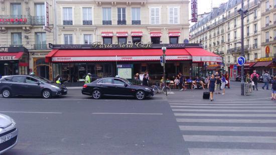 Paris nord cafe from gare du nord photo de paris nord for Agence avis gare du nord