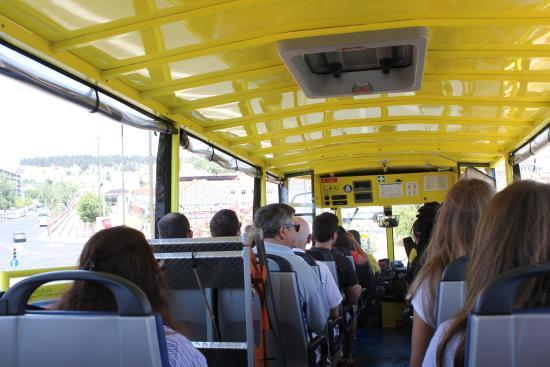 Interno Dell Hyppo Bus Billede Af Hippotrip Lissabon