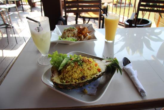 Oriental cafe: Рис в ананасе