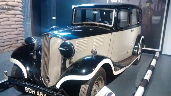 Interwar years Standard 16 at Coventry Transport Museum