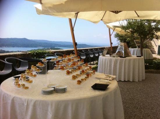 Castello di Roppolo: Terrazzo panoramico