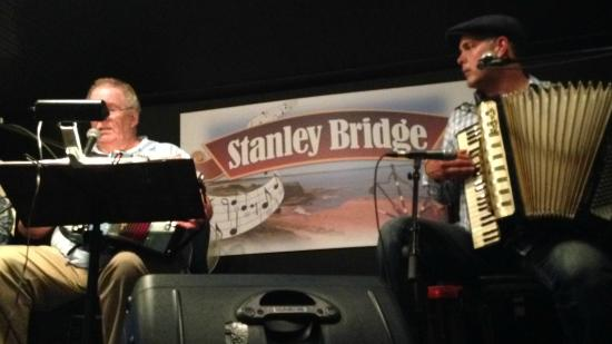 Stanley Bridge, Canada: Tom and Mike