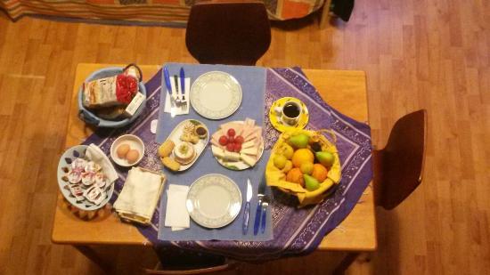 Le Casette di Lù: Tolles Frühstück!