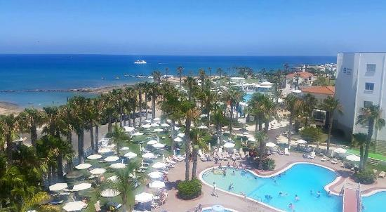 Anastasia Beach Hotel: View