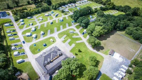 Woodlands Caravan Park: Aerial Photo