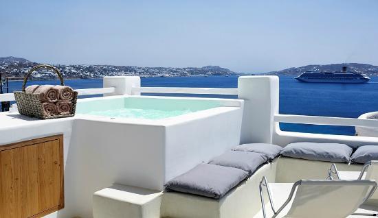 Rocabella Mykonos Art Hotel & SPA: Balcony