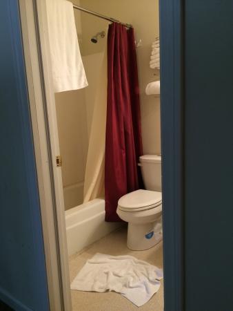 The Upper Pass Lodge: bathroom