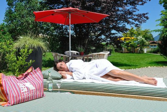 Hotel Rosenstock: Ausruhen im Garten