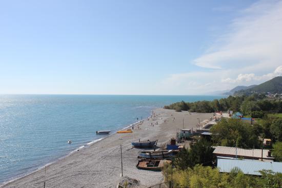 L'amore Hotel: вид моря из окна
