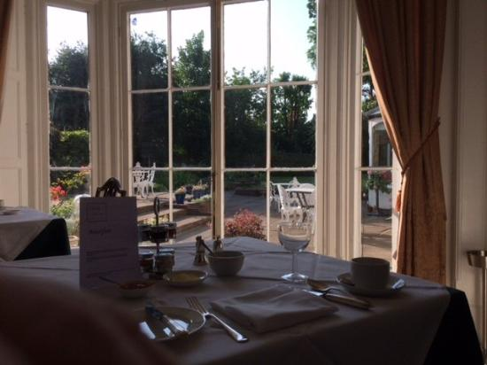 Chapel House Restaurant with Rooms: View from breakfast table