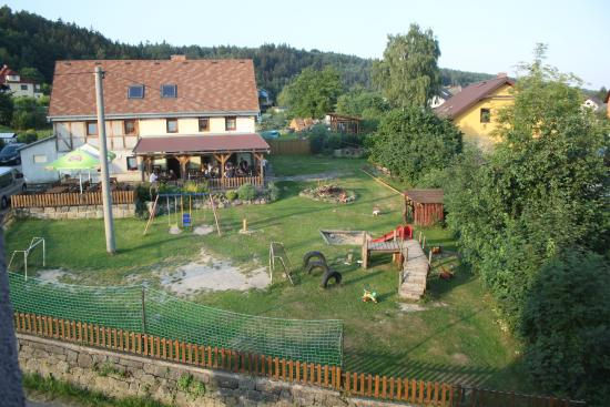 Hotel Zlata Lipa: Sight from the window