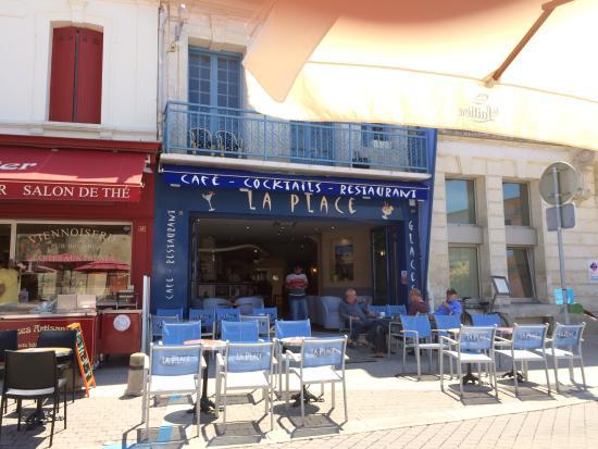 Cafe de la place saint georges de didonne restaurant avis photos tripadvisor - Office du tourisme st georges de didonne ...