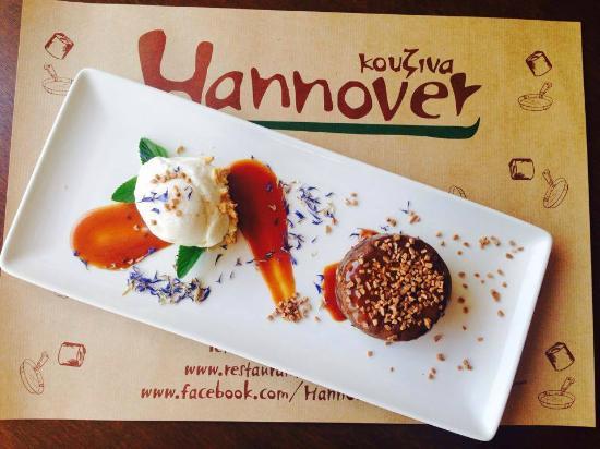 Hannover Kouzina: Σουφλέ σοκολάτας με αλμυρή καραμέλα