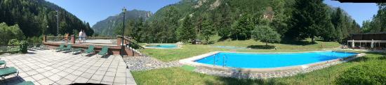 Caldes De Boi, إسبانيا: piscinas termañes
