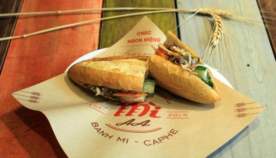 Banh mi - Mi AA - Happy Bread