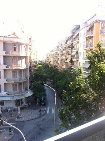Park Hotel: Aussicht vom Balkon (3. Stock)
