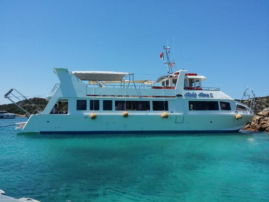 Palau, Italy: motonave lady luna 2 la maddalena