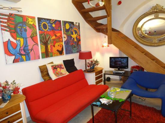 Luxury Old Town Apartments: Fra stue kroken
