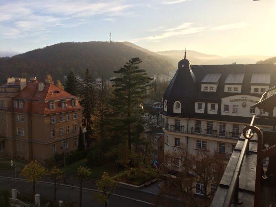 Hotel Smetana-Vysehrad: Вид из номера