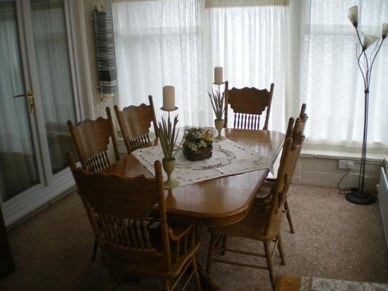 Laurel House: Dining area