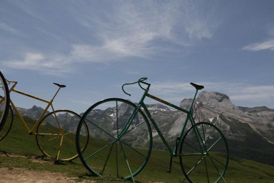 Pyrenees National Park (Parc National des Pyrenees): Herinnering tour de france