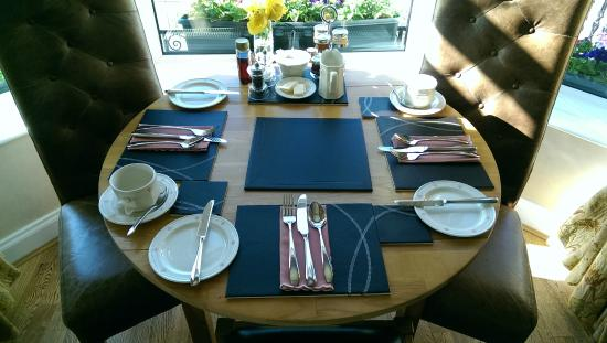 Leuchars, UK: Breakfast room