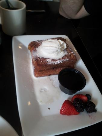 Eatery : Stuffed French Toast.