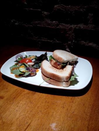 Blue Lounge Scarborough: Mozzarella and Pesto Toastie