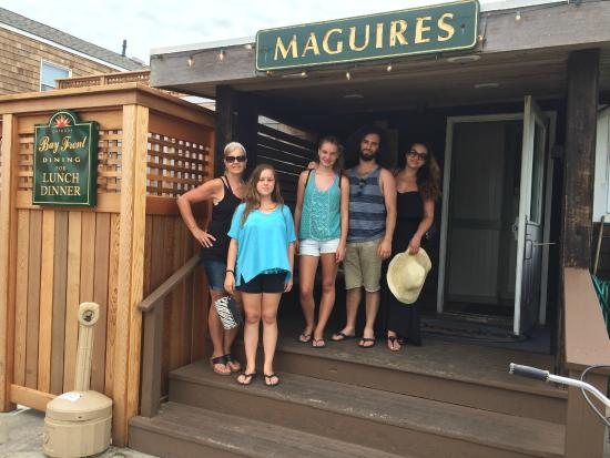 Maguire S Bay Front Restaurant Door Of Maguires Ocean Beach Fire Island
