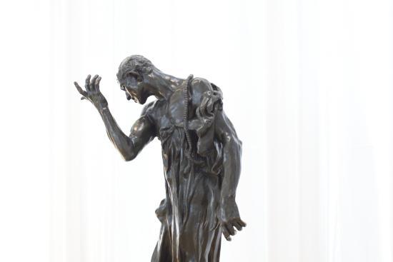 North Carolina Museum of Art : Escultura de Rodin