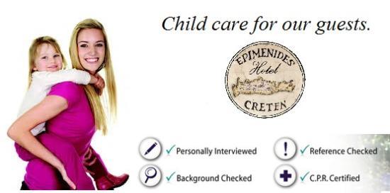 Epimenidis Hotel: Need a babysitter?