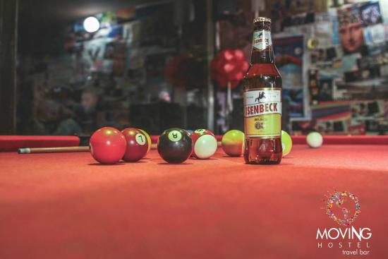 Bar Pool Cerveza Que Mas Pedir Picture Of Moving Hostel - Pool table movers delaware