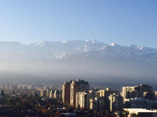 Norus Apartments Las Condes: Vista linda da cidade