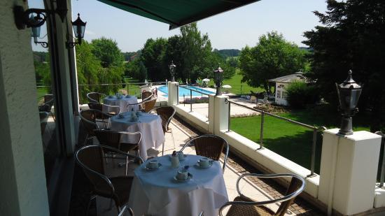 Hotel Tanneck: Sonnenterasse