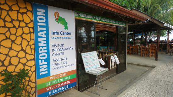 Playa Samara, Costa Rica: Entrance to the Info Center