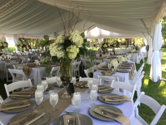 Roy's Place Cafe & Catering: Private residence wedding, June 20, 2015