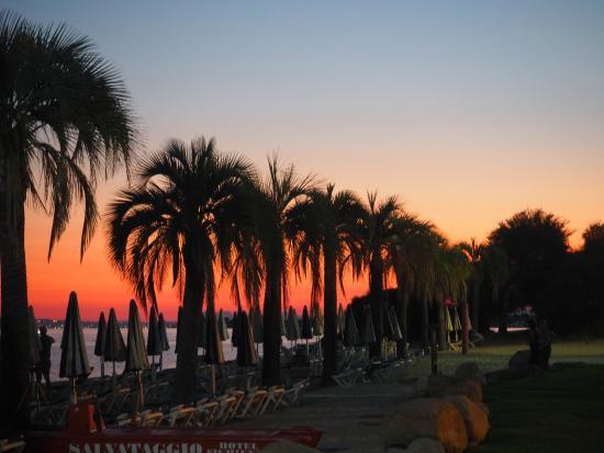 Hotel Sighientu Thalasso & Spa : tramonto