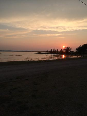 Pictou, Canadá: Most beautiful sunsets at Cranberry Campground!