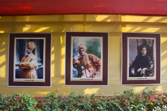 Pictures Of Swami Vivekananda On The Wall Belur Math Belur