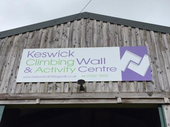 Keswick Climbing Wall!