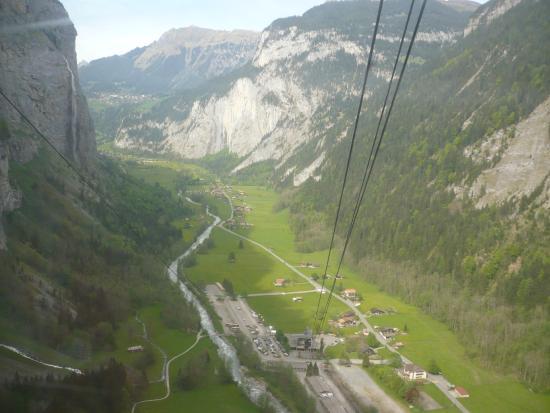 Mürren, Schweiz: подъем