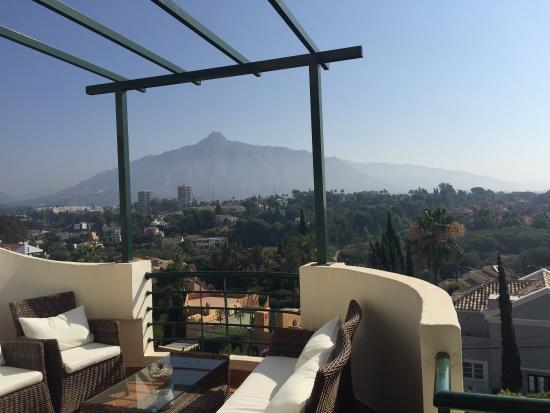 Senorio de Aloha: Utsikten från balkongen