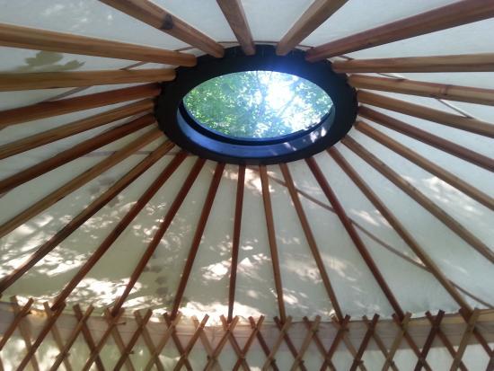 Swan Lake, Монтана: Yurt Skylight
