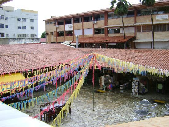 Artesanato Garrafas De Vidro Decoradas ~ Vis u00e3o interna de feira Foto de Shopping Artesanato Potiguar, Natal TripAdvisor
