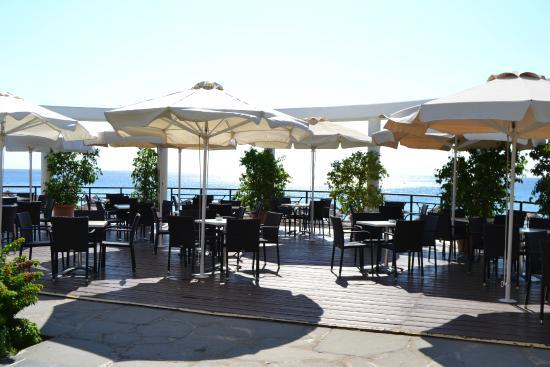 Incroyable Calypso Beach Hotel: Terrasse Avec Vue Sur Mer